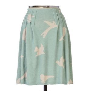 Anthropologie Moth Fulmar Knit Circle Skirt